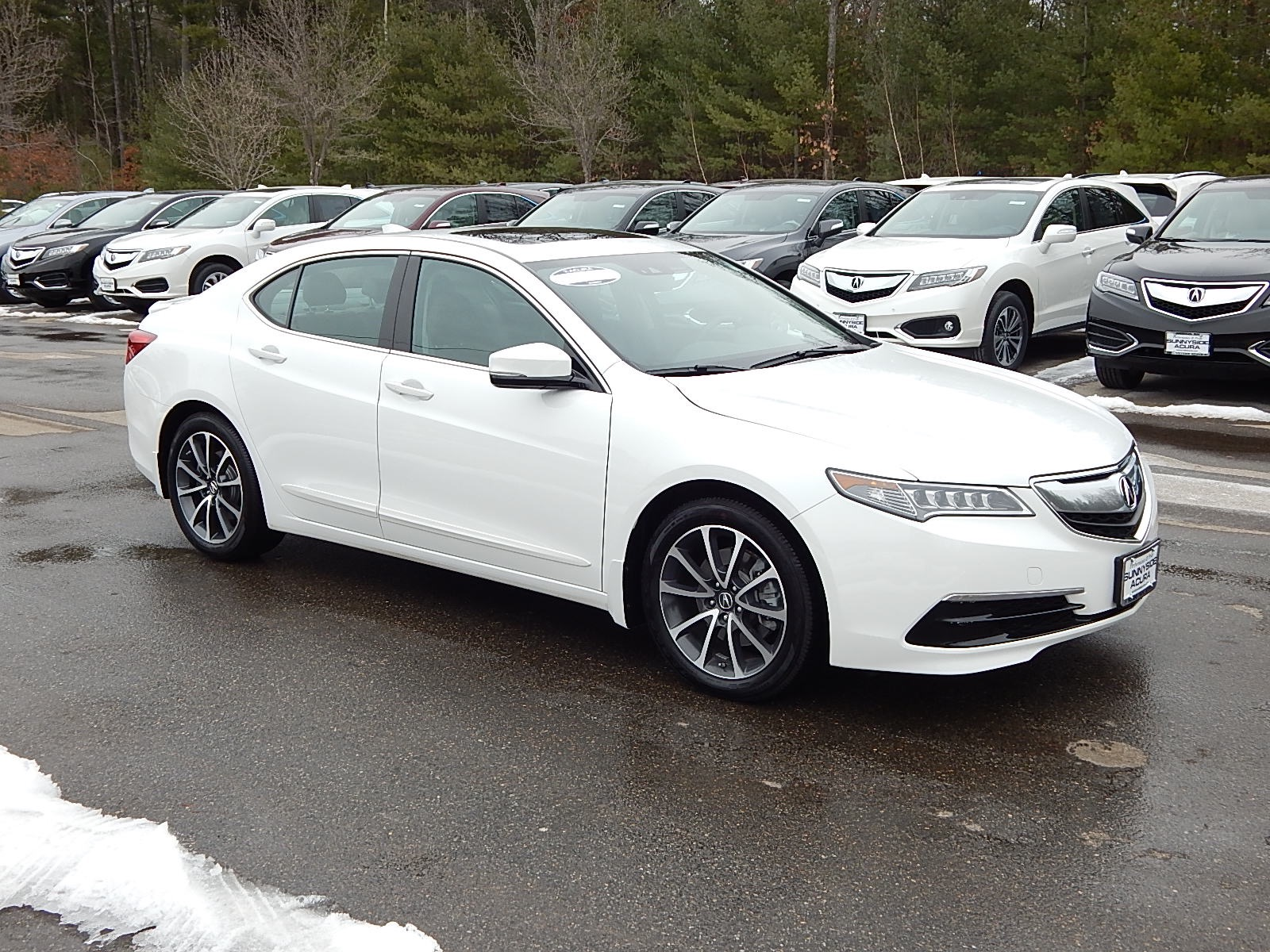 certified pre owned 2015 acura tlx 3 5l v6 sh awd w. Black Bedroom Furniture Sets. Home Design Ideas