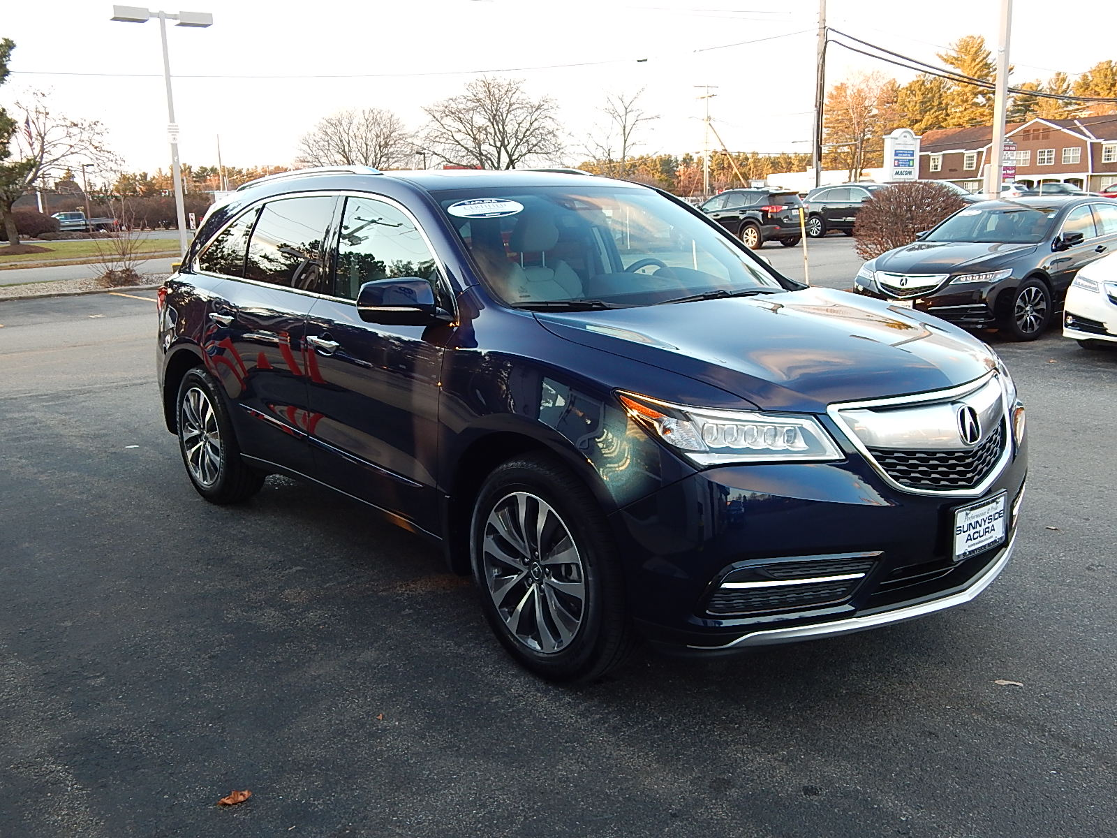 certified pre owned 2014 acura mdx 3 5l v6 suv in nashua 2280a sunnyside acura. Black Bedroom Furniture Sets. Home Design Ideas