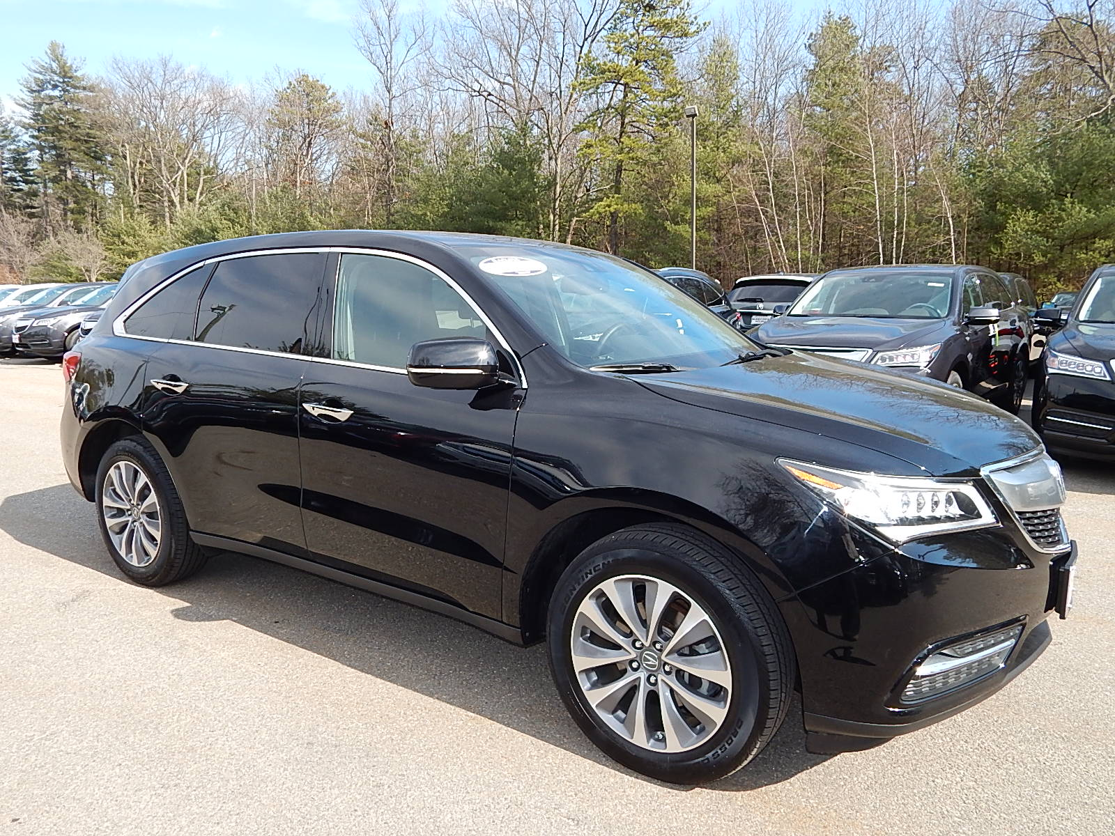 certified pre owned 2015 acura mdx 3 5l technology package sh all wheel drive suv in nashua. Black Bedroom Furniture Sets. Home Design Ideas