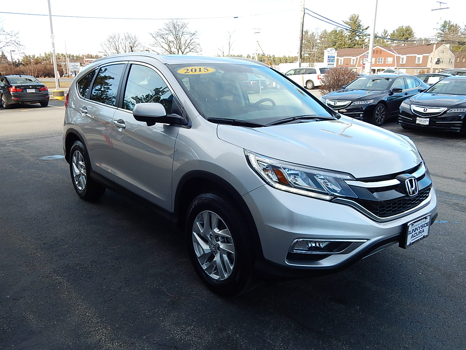 pre owned 2015 honda cr v ex l suv in nashua 1954a